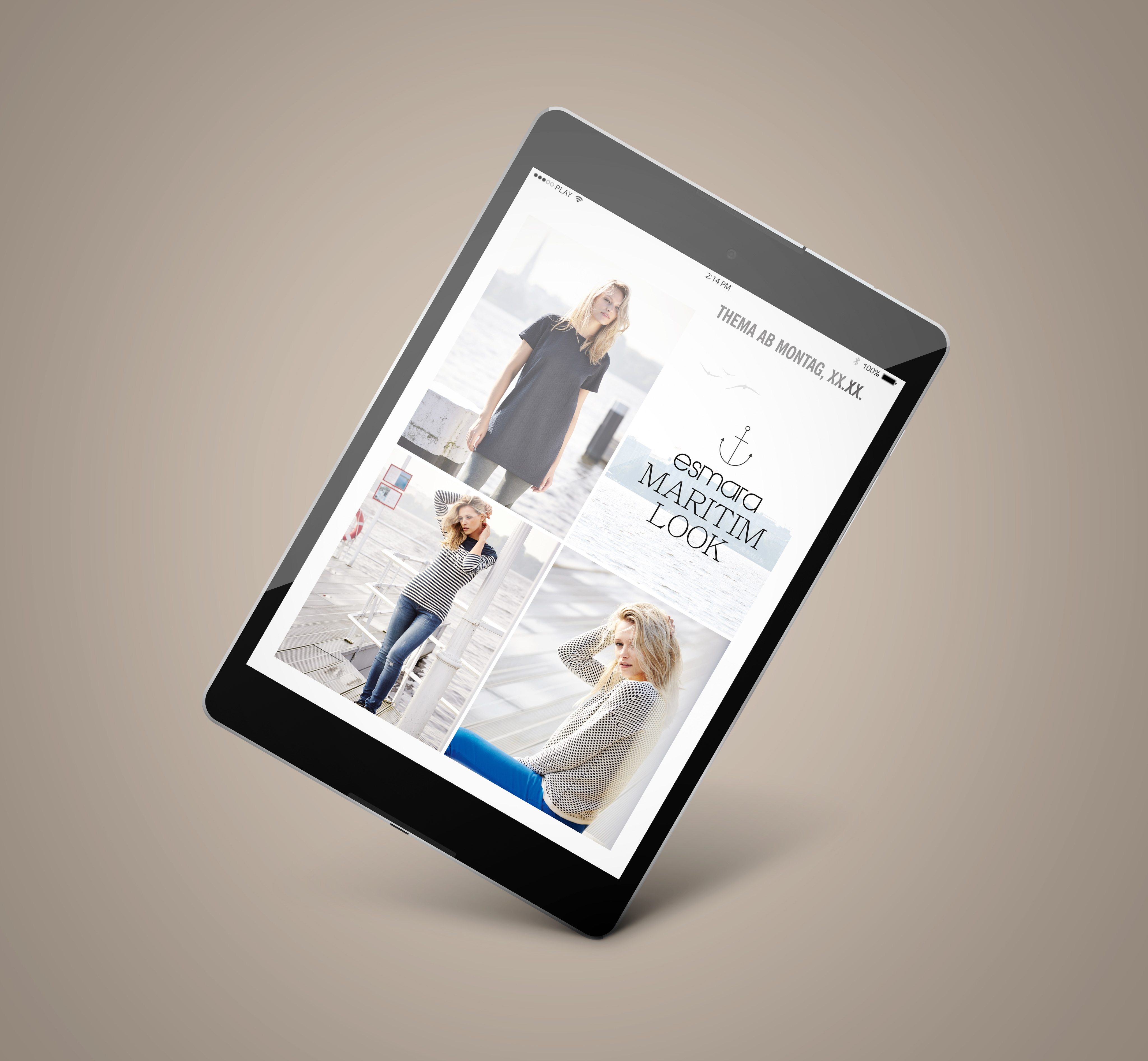 LIDL Handzettel Tablet