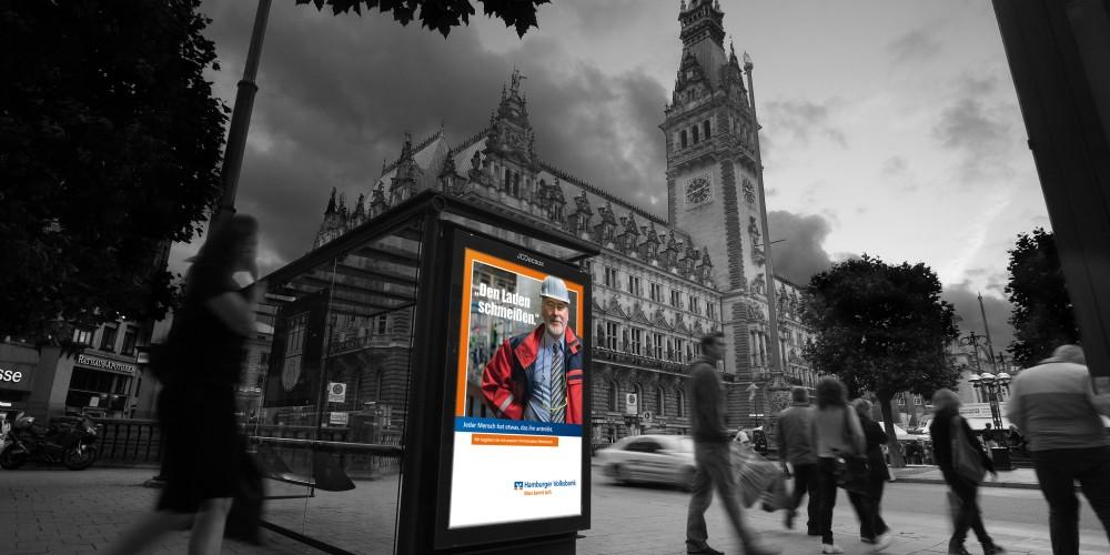 Hamburger Volksbank City Light Poster