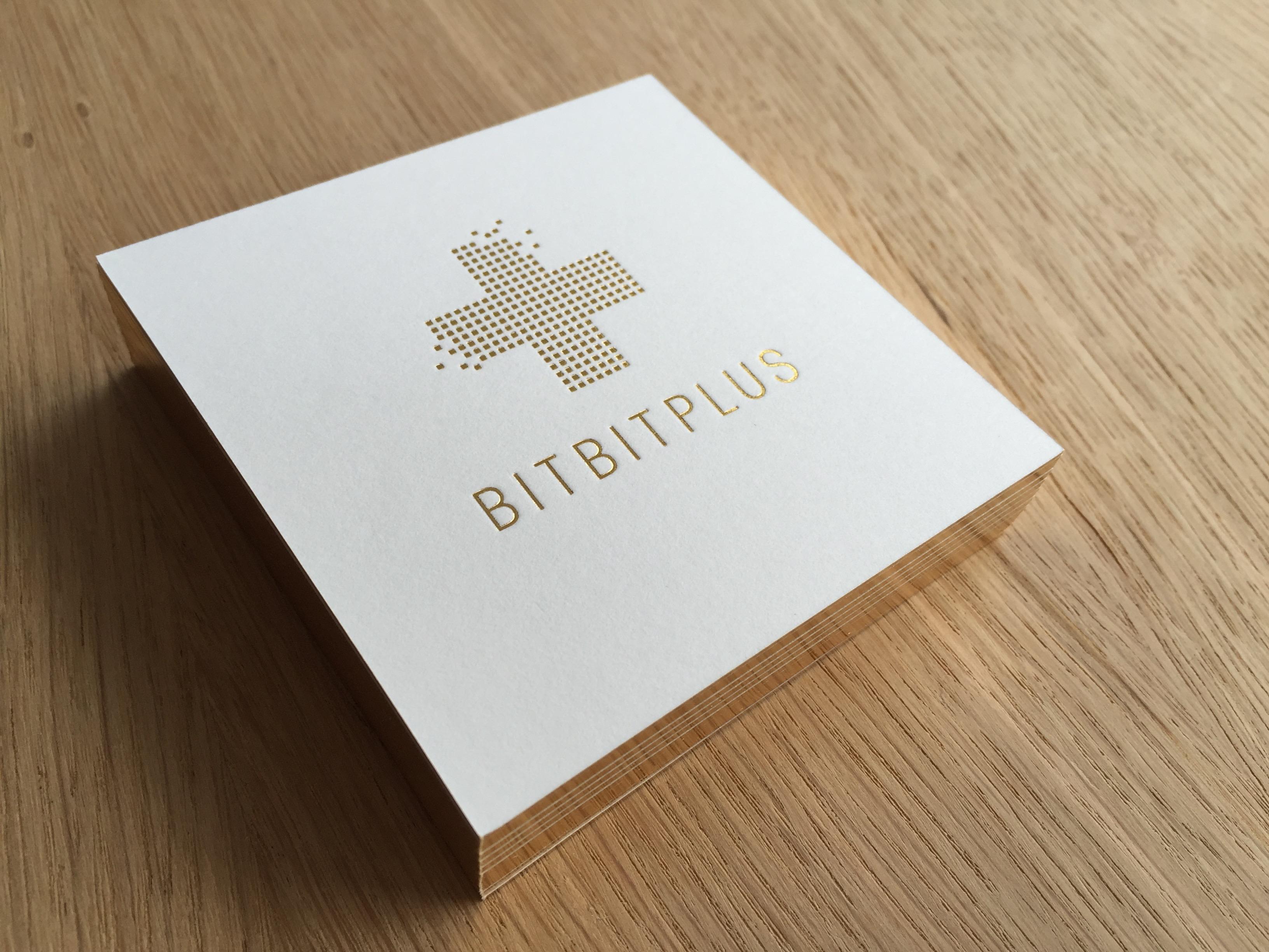 BITBITPLUS Visitenkarte Stapel