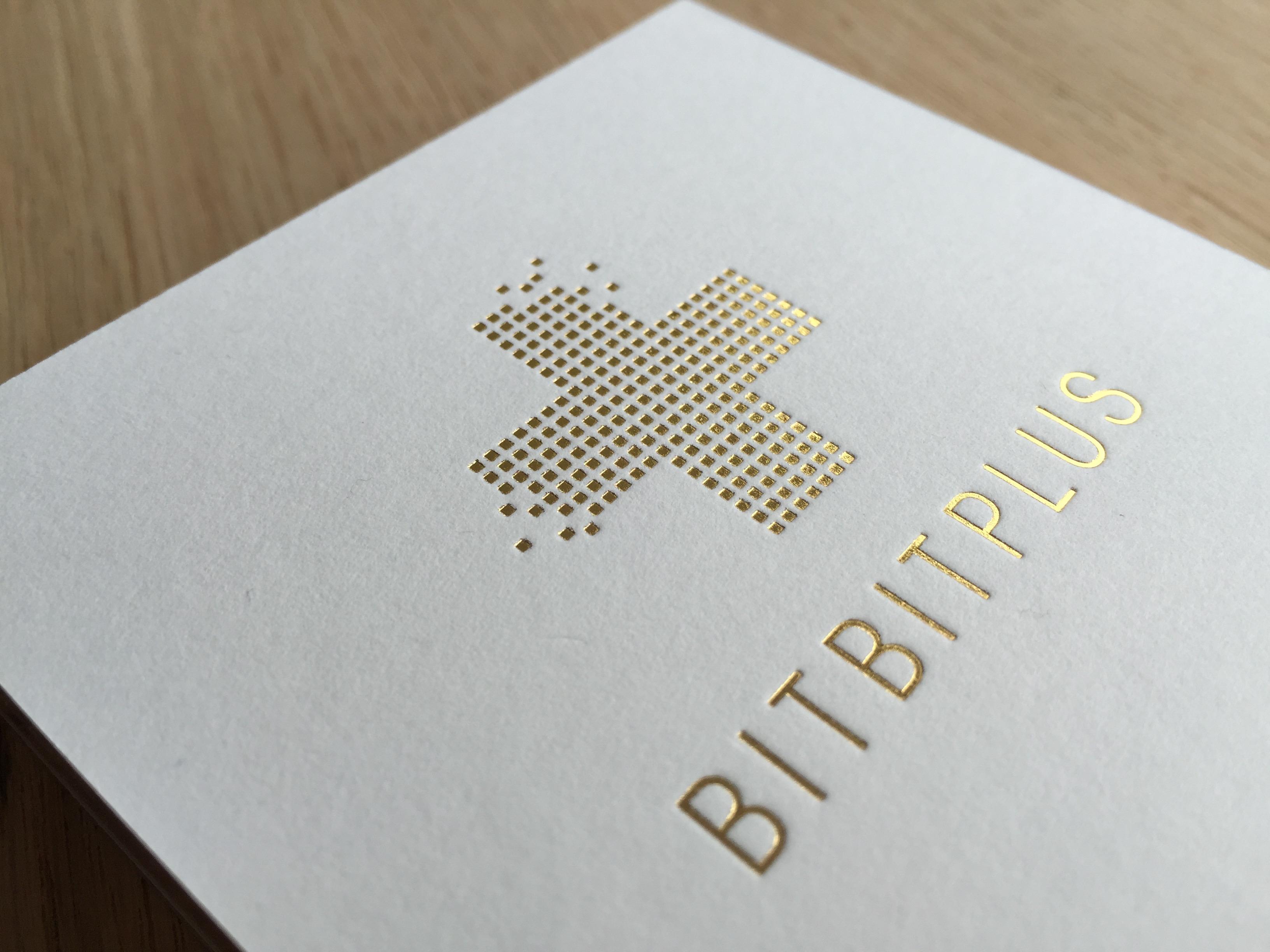 BITBITPLUS Visitenkarte Closeup