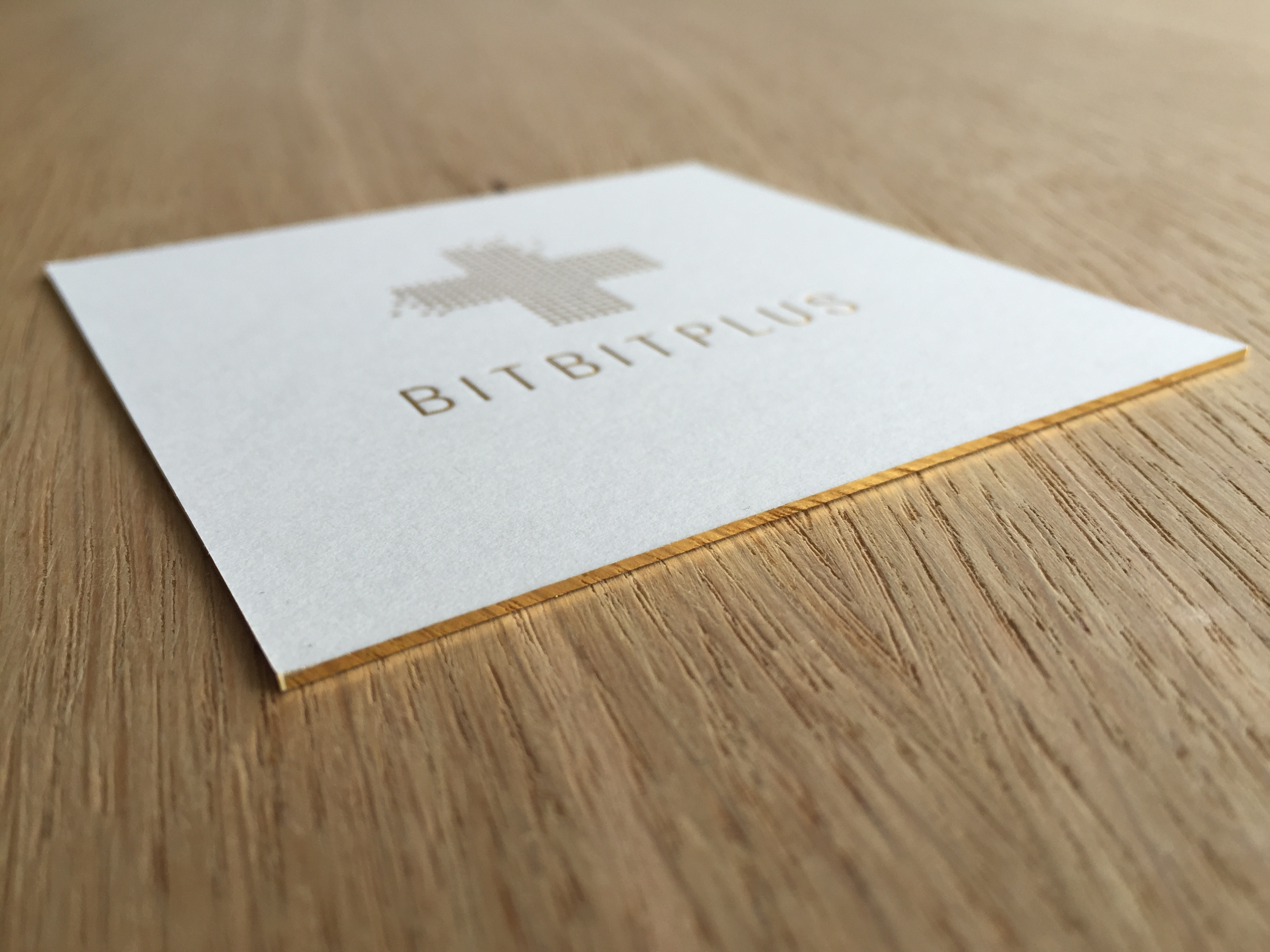 BITBITPLUS Visitenkarte single