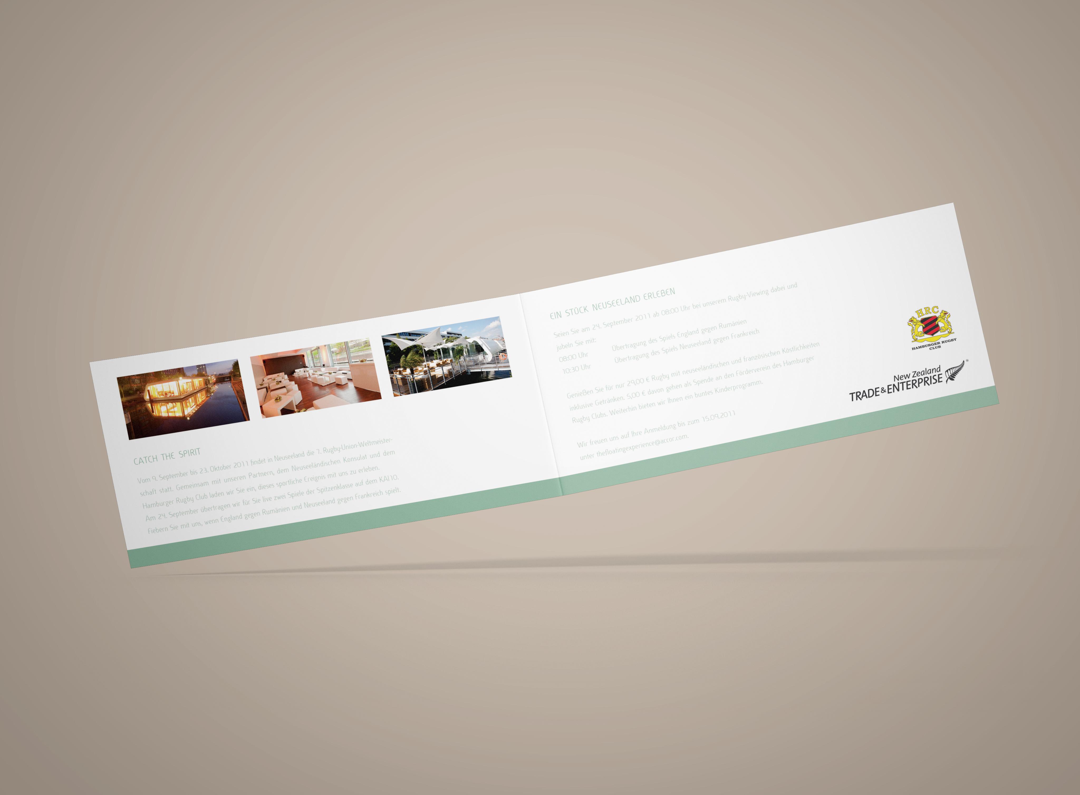 Mercure Einladungskarte Innenseite